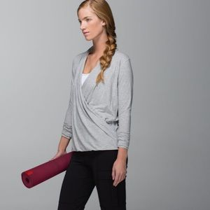 Lululemon Radiant Long Sleeve Hyper Stripe Size 8